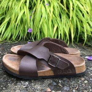 Birkenstock Birkis Criss Cross Sandals